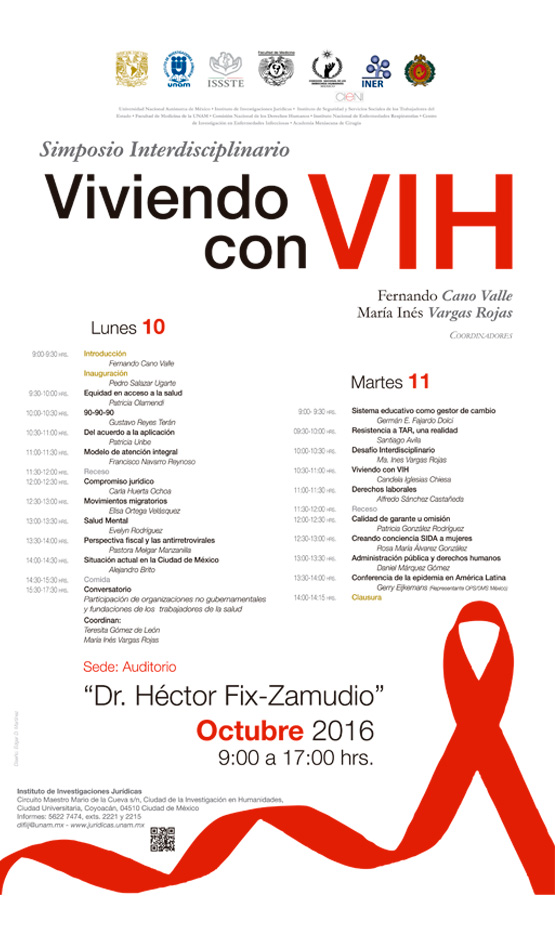 """Simposio Interdisciplinario """"Viviendo con VIH"""""""