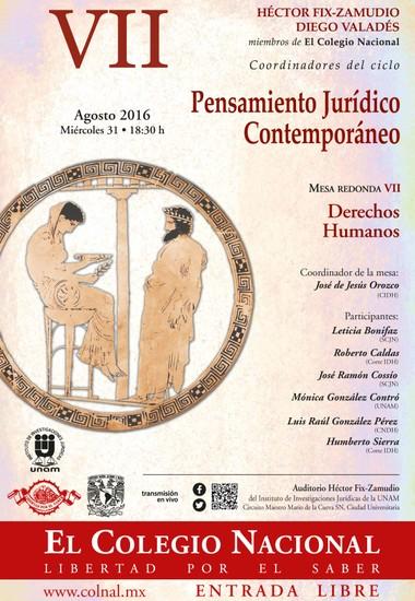 "Mesa Redonda VII ""Derechos Humanos"""