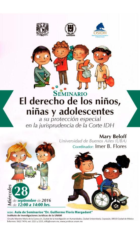 """Seminario """"El derecho de los niños a su protección especial en la jurisprudencia de la Corte Interamericana de Derechos Humanos"""""""