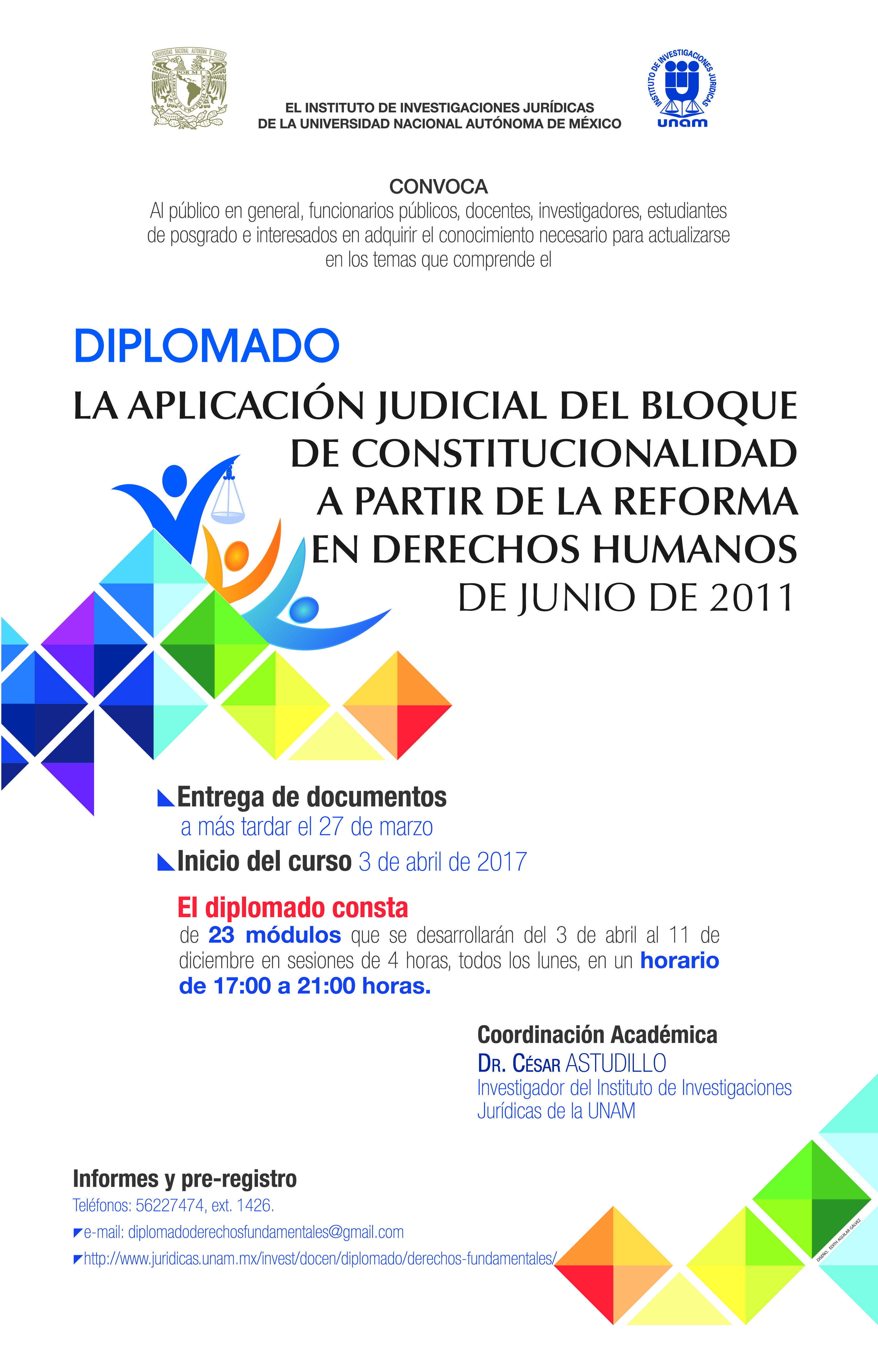 La aplicación judicial del bloque de Constitucionalidad a partir de la Reforma de Junio de 2011