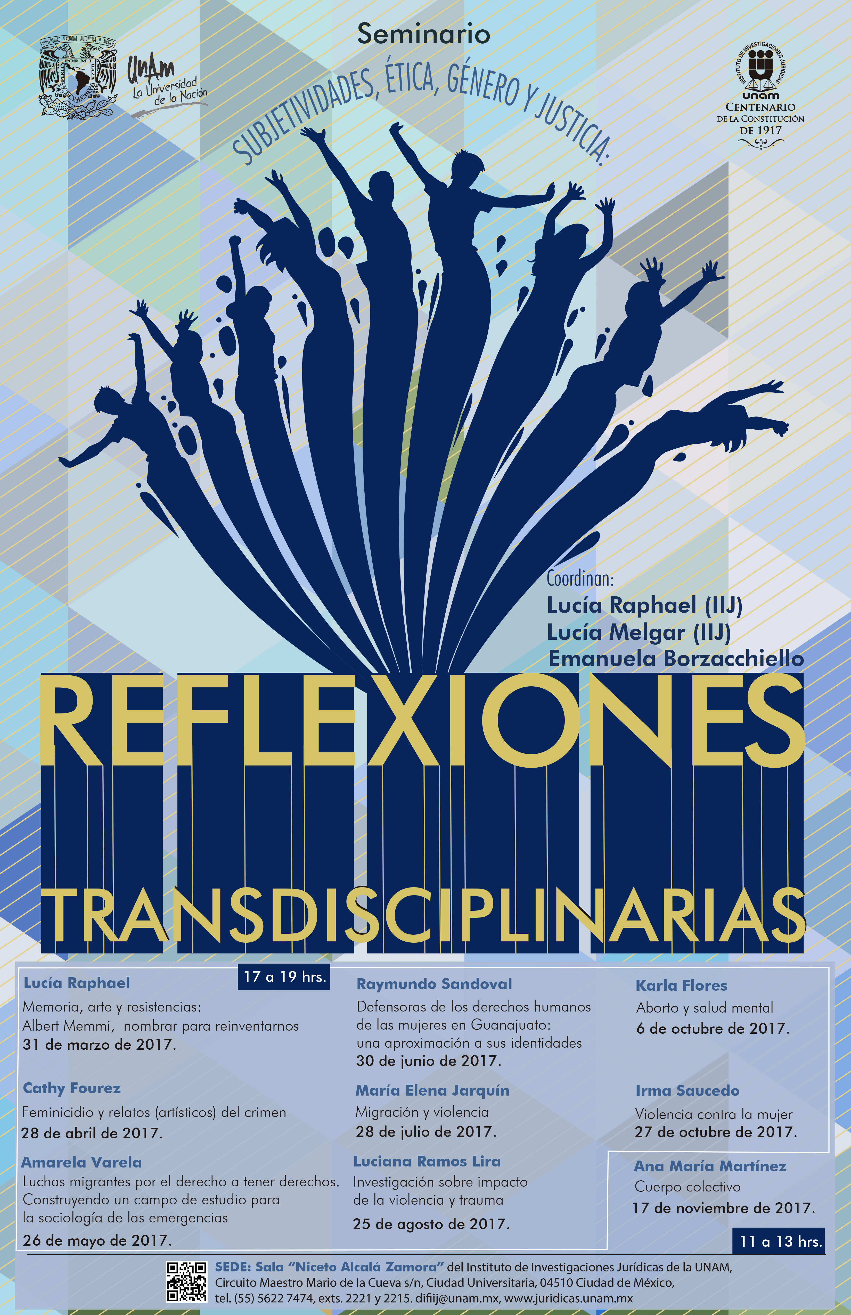 Subjetividades, ética, género y justicia: Reflexiones transdisciplinarias