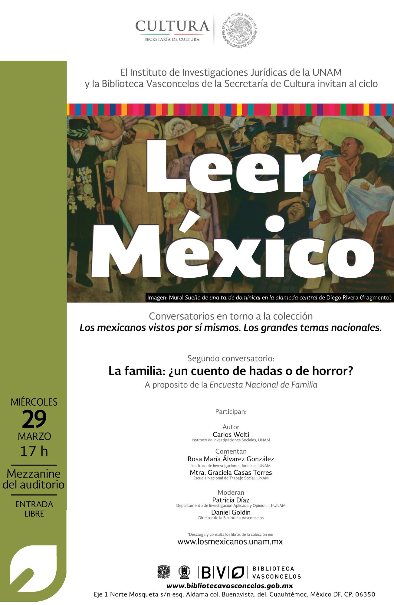 """""""Leer México"""" La Familia ¿un cuento de hadas o de horror?"""