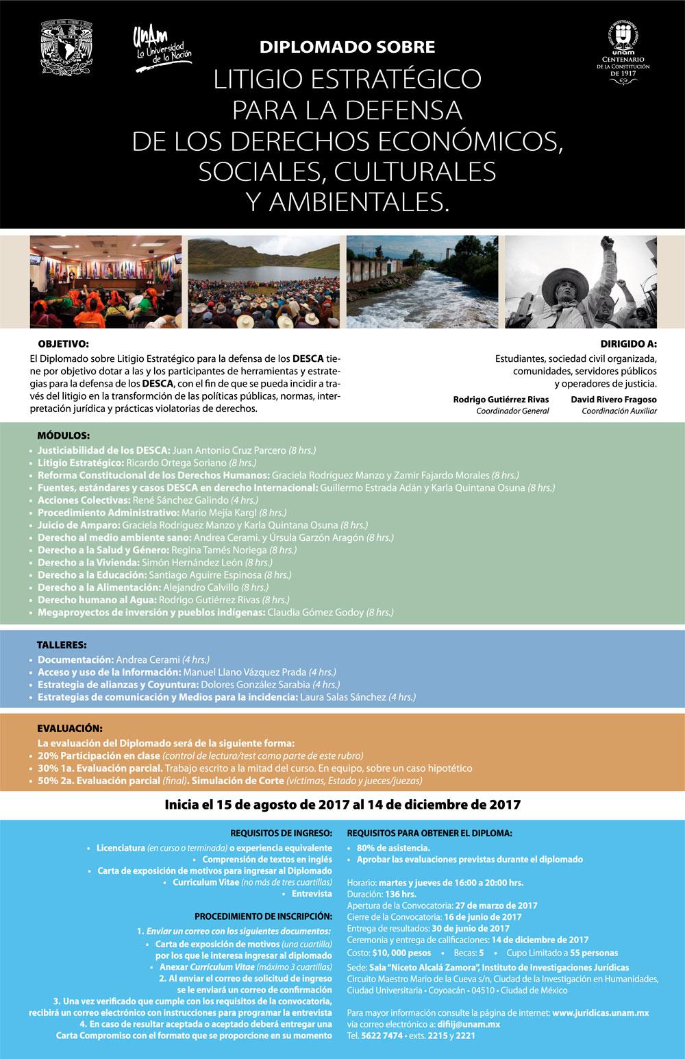 Litigio estratégico para la defensa de los derechos económicos, sociales, culturales y ambientales