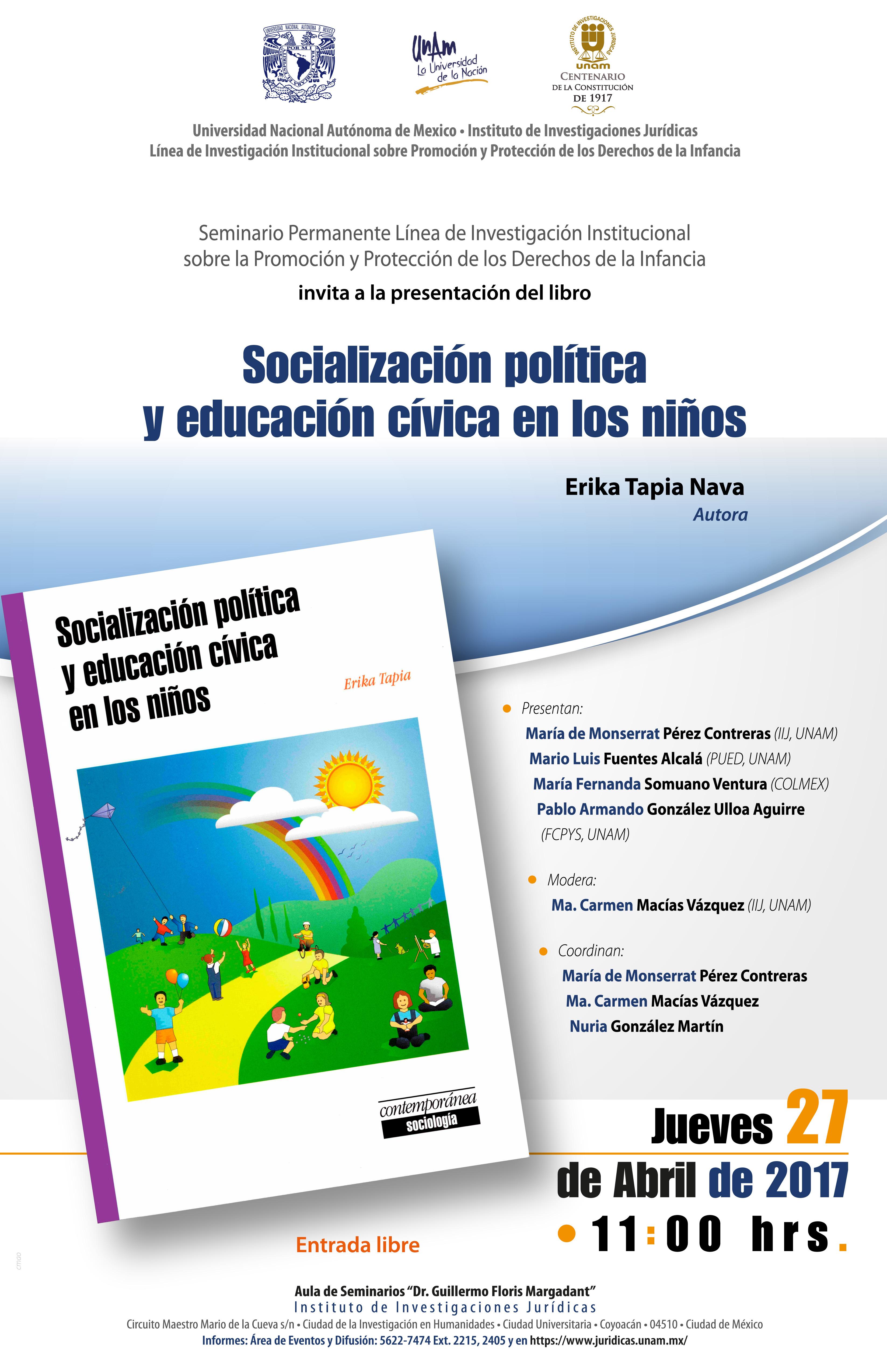 Socialización política y educación cívica en los niños