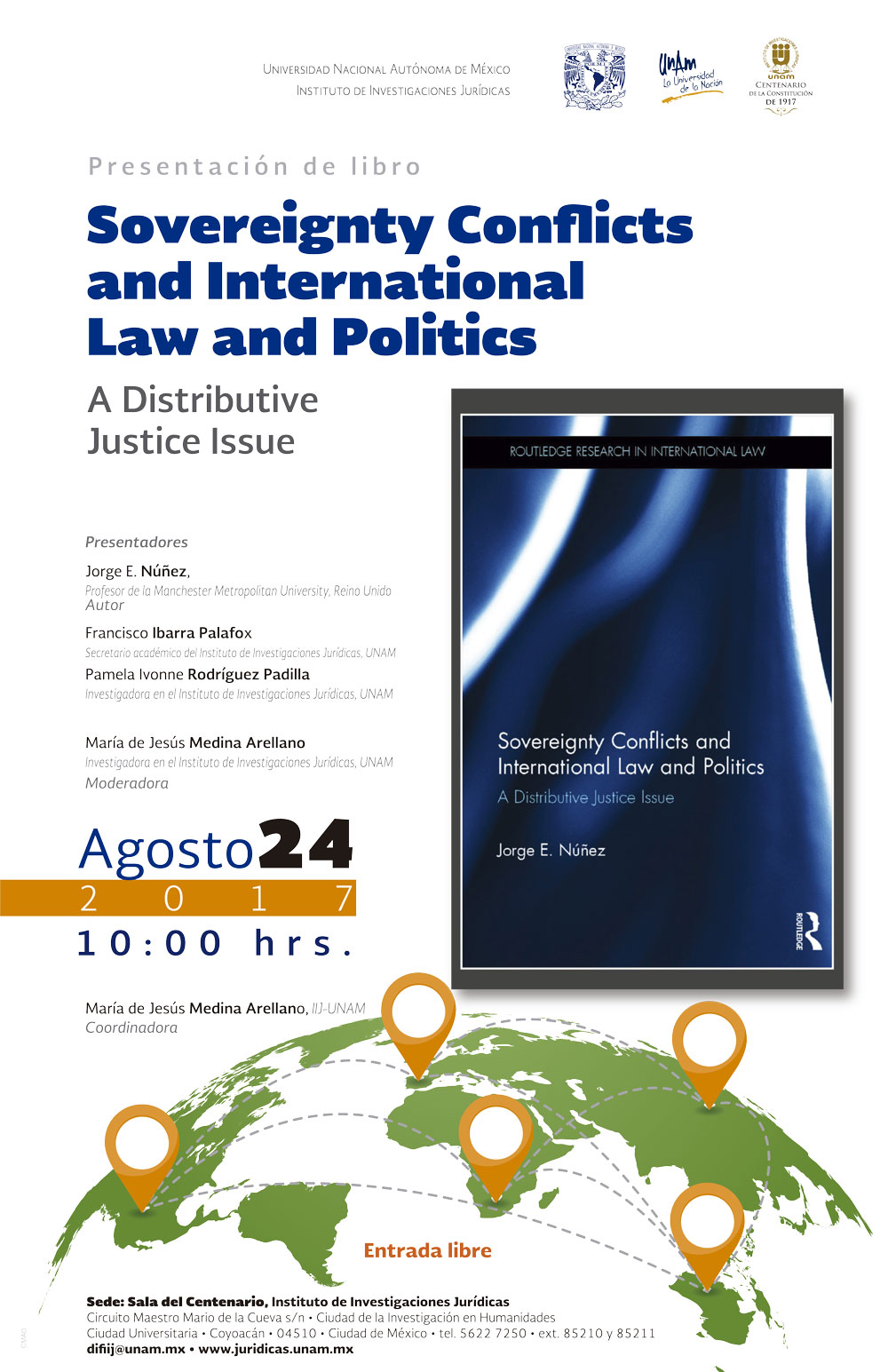 Sovereignty conflicts  and international law  and politics. A distributive justice issue