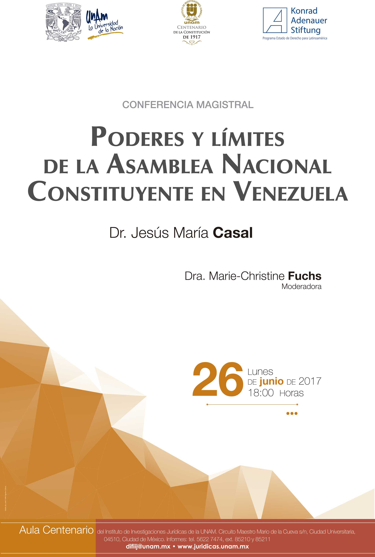 Poderes y límites de la Asamblea Nacional Constituyente en Venezuela