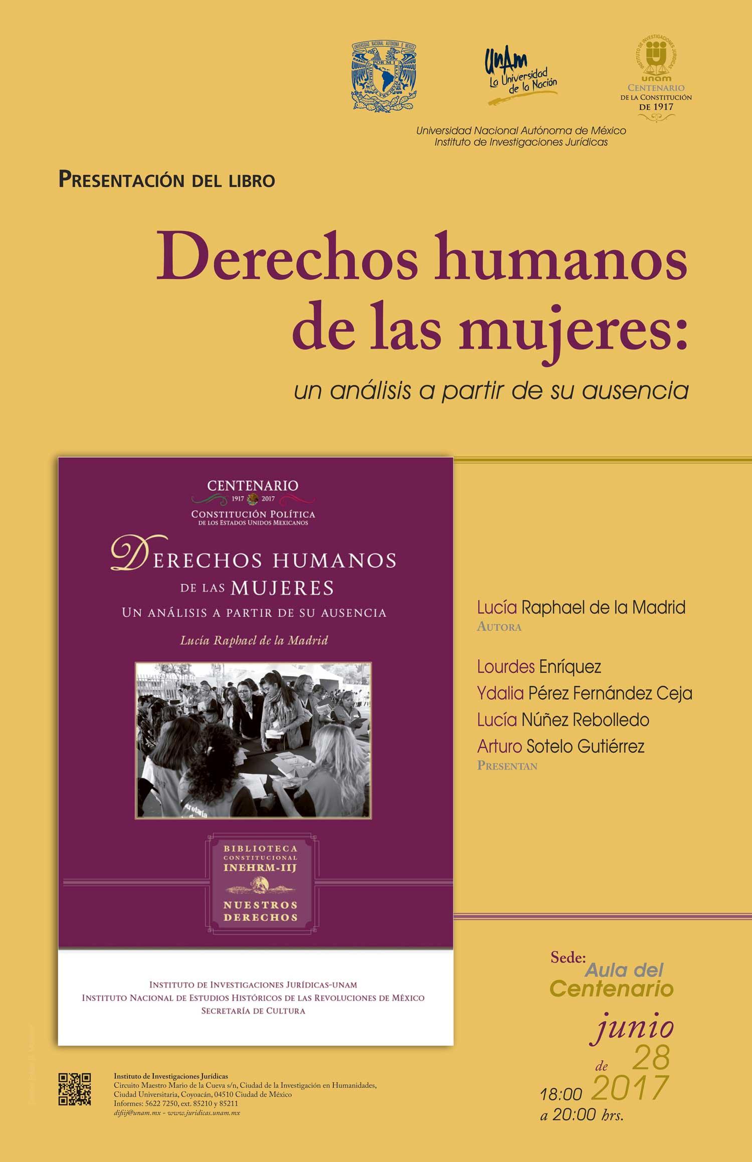 Derechos Humanos de las mujeres: un análisis a partir de su ausencia