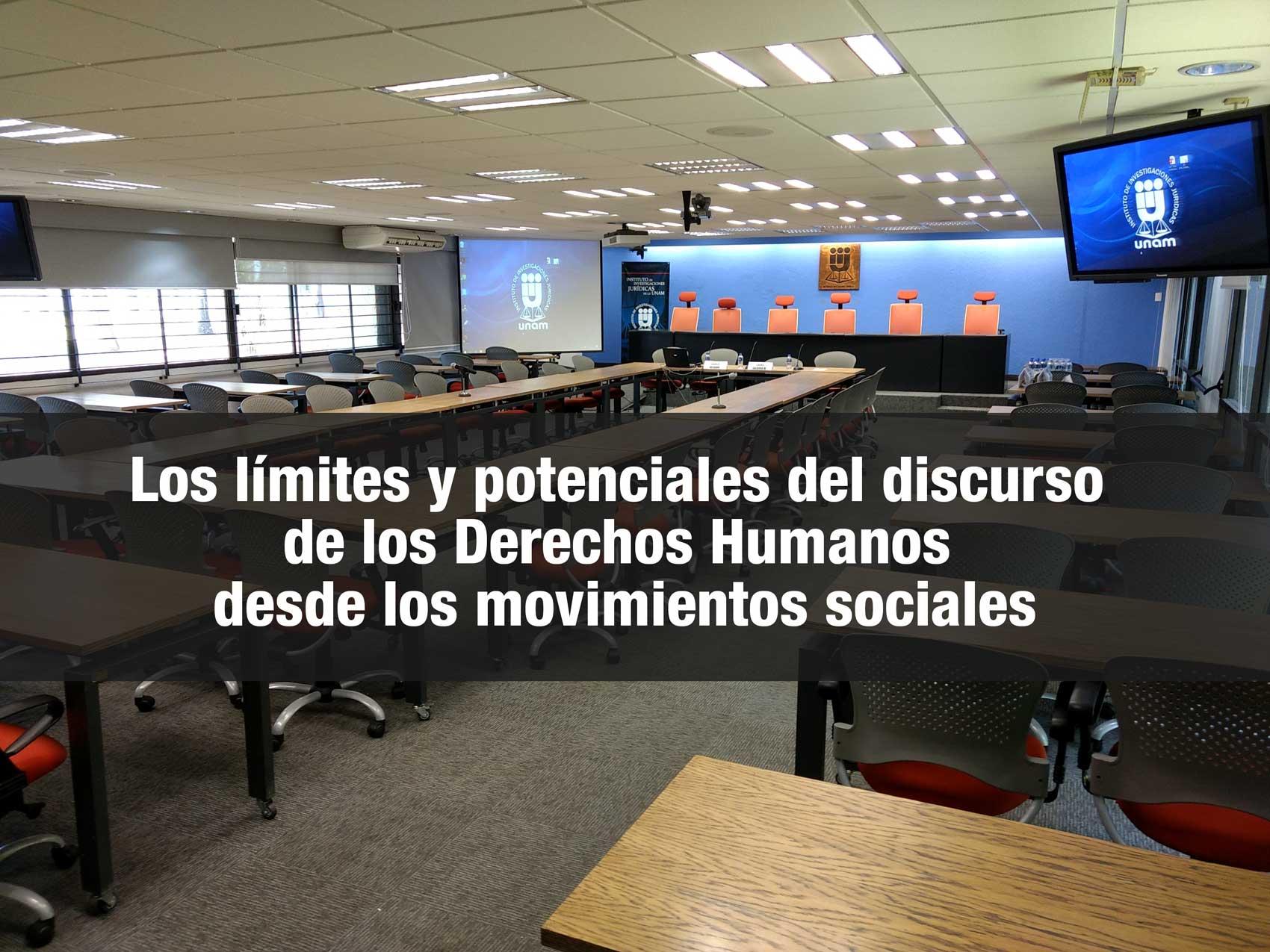 Los límites y potenciales del discurso de los Derechos Humanos desde los movimientos sociales