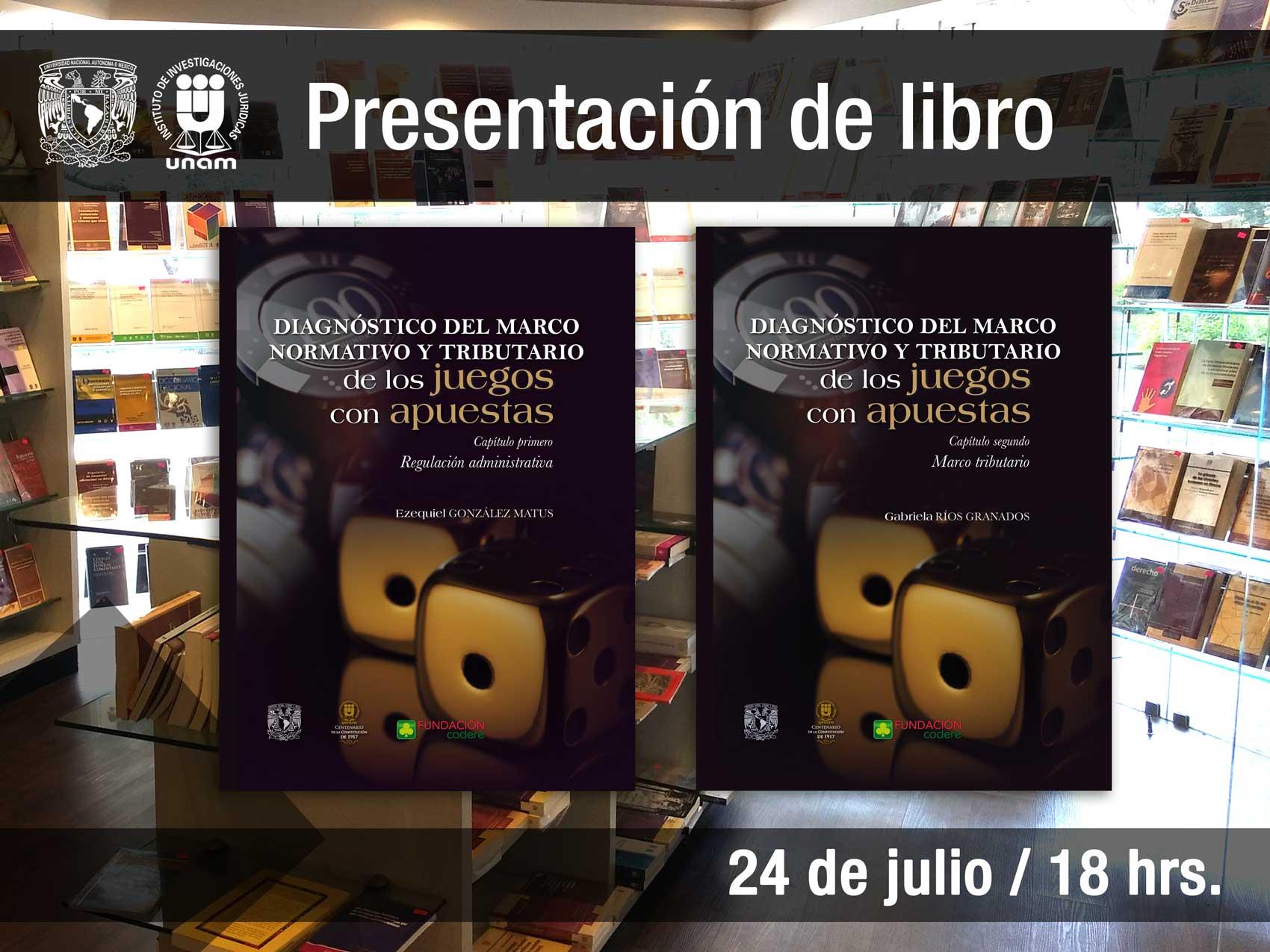 Diagnóstico del marco Normativo y Tributario de los juegos con apuestas. Capítulo I y II