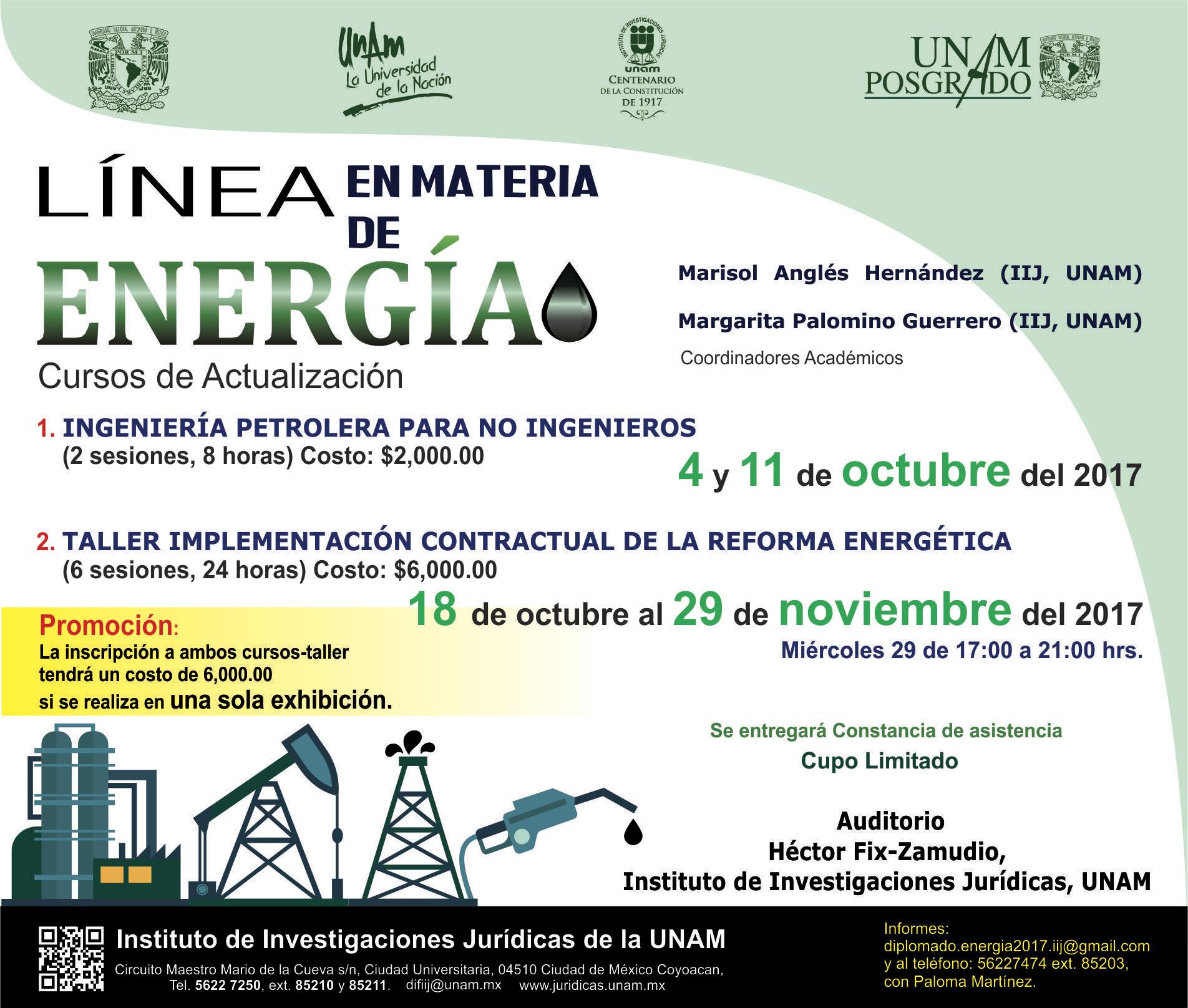 Curso-taller de Implementación contractual de la Reforma Energética