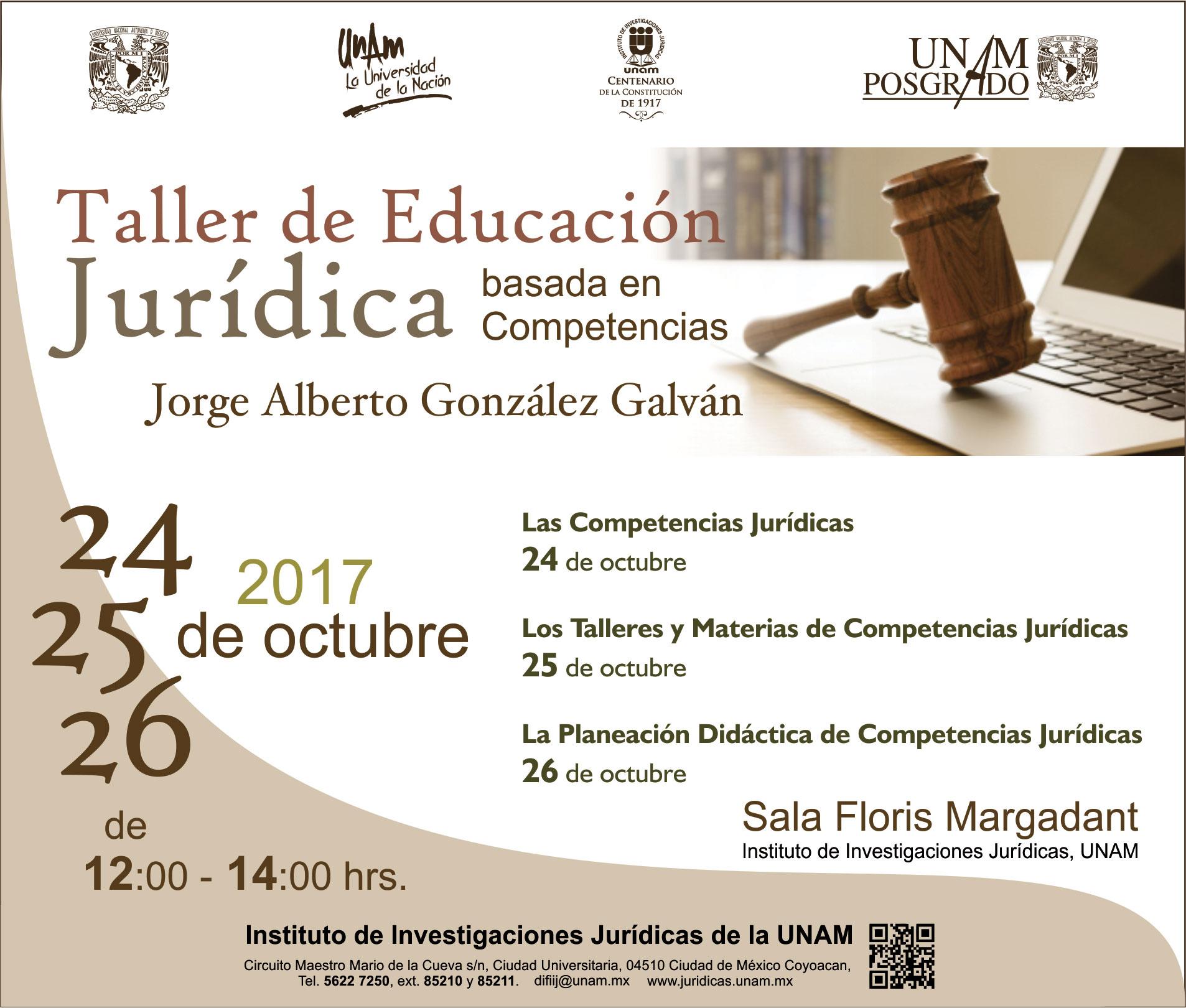 Taller de educación jurídica basada en competencias