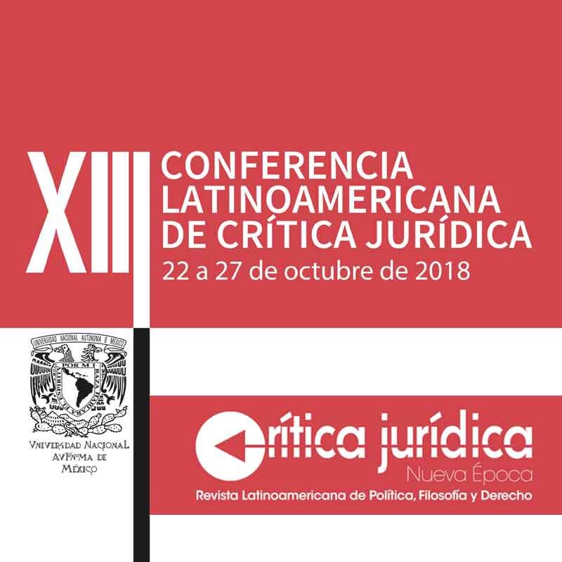 XIII Conferencia Latinoamericana de Crítica Jurídica