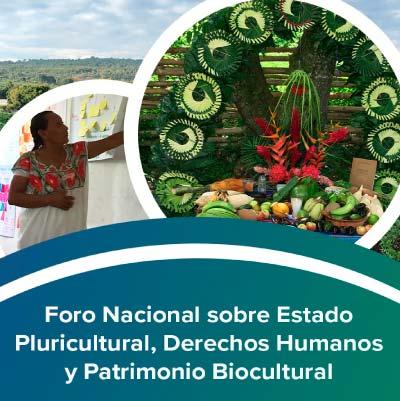 Foro Nacional sobre Estado Pluricultural, Derechos Humanos y Patrimonio Biocultural