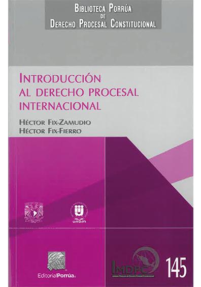 Introducción al derecho procesal internacional