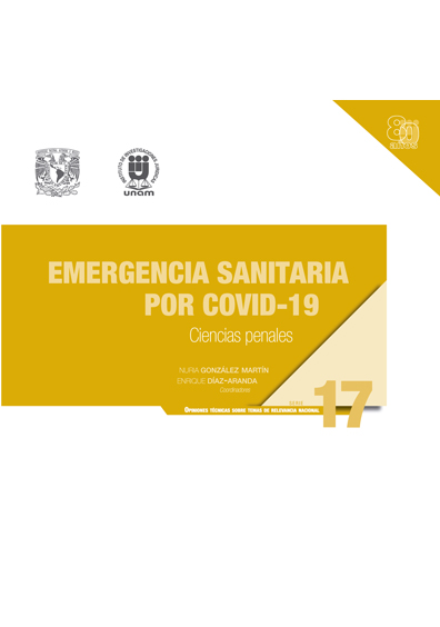 Emergencia sanitaria por COVID-19: Ciencias penales