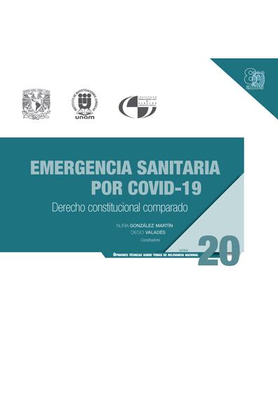 Emergencia sanitaria por COVID-19: Derecho constitucional comparado