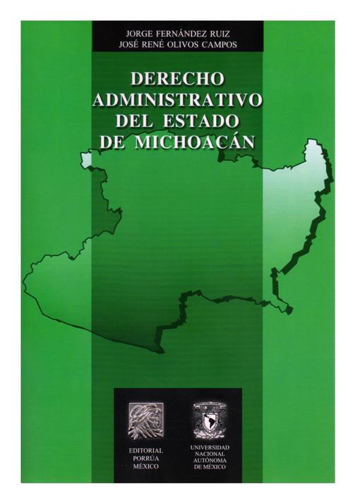 Derecho administrativo del estado de Michoacán